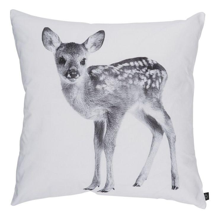 Deer, White, 60x60 cm