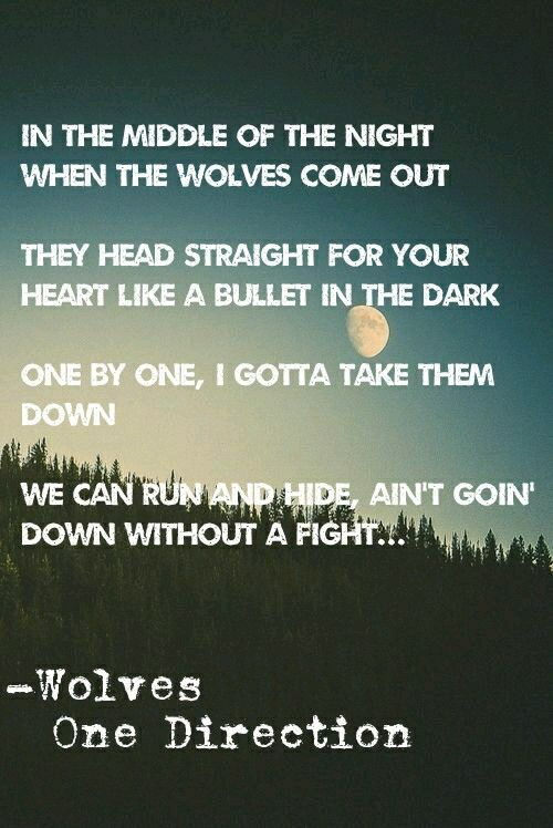 Wolves One Direction. One of my fav songs on this album!! :D
