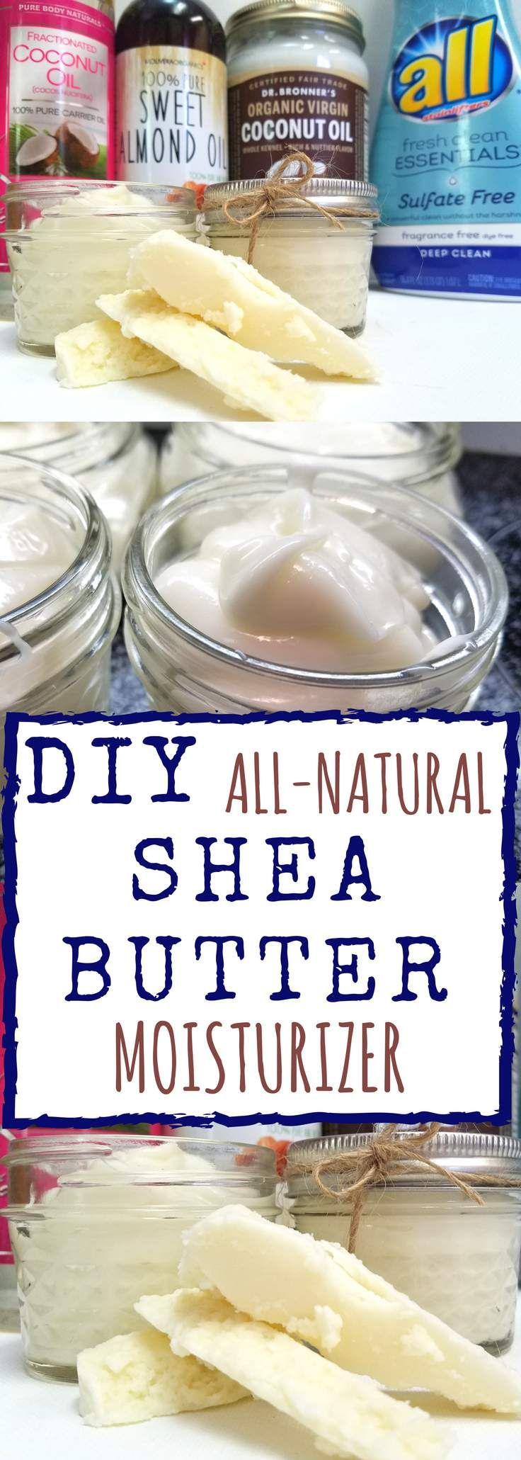 #ad #allessentials #allsulfatefree   DIY Whipped Shea Butter   All you have to do is melt down the ingredients, stir and wah la' moisturizer. Sounds easy enough right?   Homestead Wishing, Author Kristi Wheeler   http://homesteadwishing.com/diy-whipped-shea-butter-moisturizer/   diy-shea-butter, diy-body-butter, diy-moisturizer, homemade-shea-butter   DIY-whipped-shea-butter-moisturizer   DIY whipped shea butter moisturizer