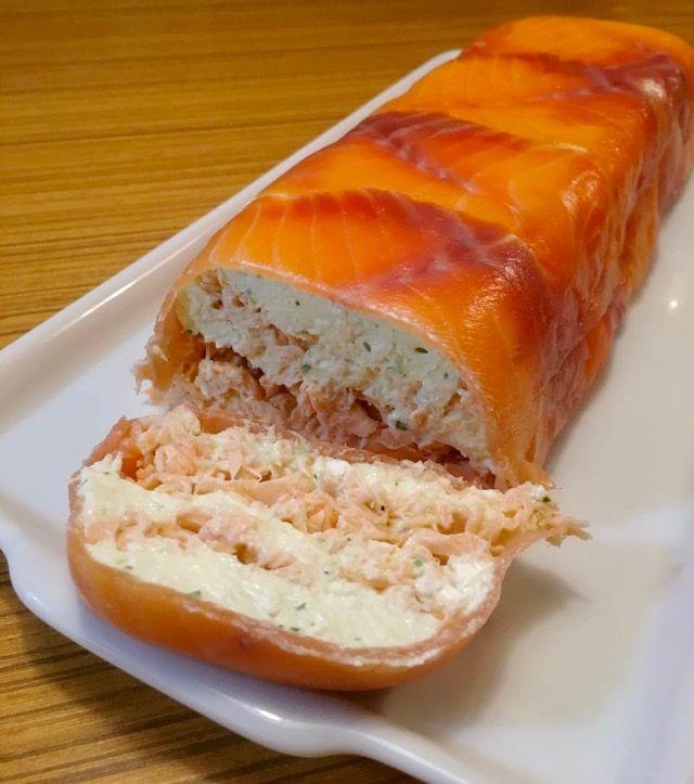 terrine de salmão