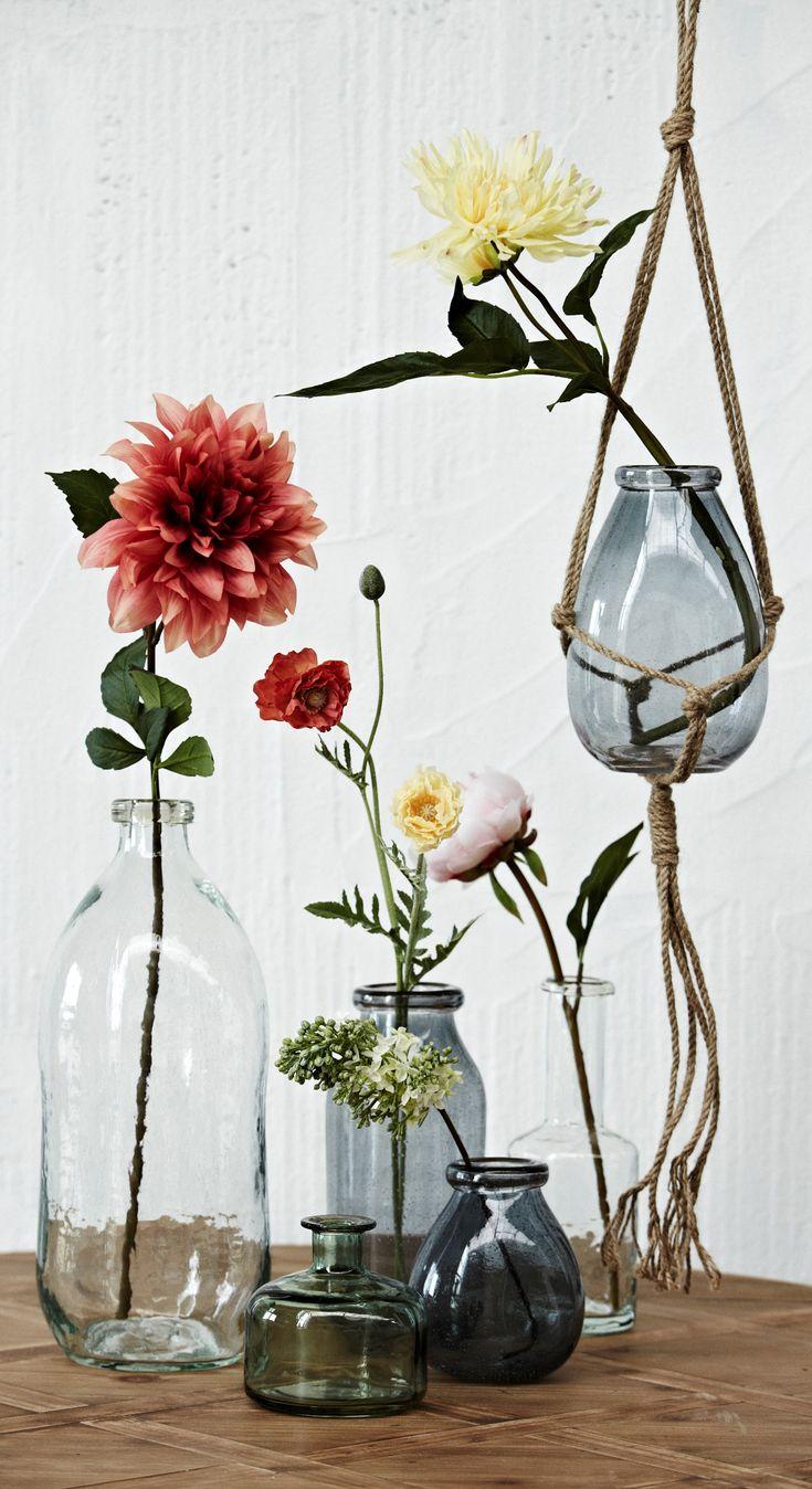 Best 25 glass flower vases ideas on pinterest decorating vases grey glass flower vase in scandi style reviewsmspy
