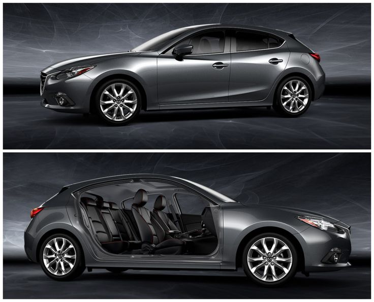 2014 Mazda3 5-door - 2.5 litre, 6-speed automatic, with paddle shifters and driver-centric heads-up display.