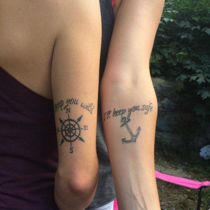 42 best meaningful sister tattoos images on pinterest couple tattoos nice tattoos and sister. Black Bedroom Furniture Sets. Home Design Ideas