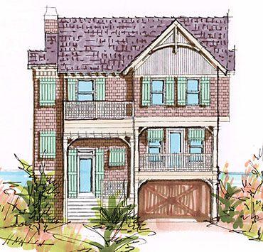 28 best beach house plans images on pinterest beach house plans