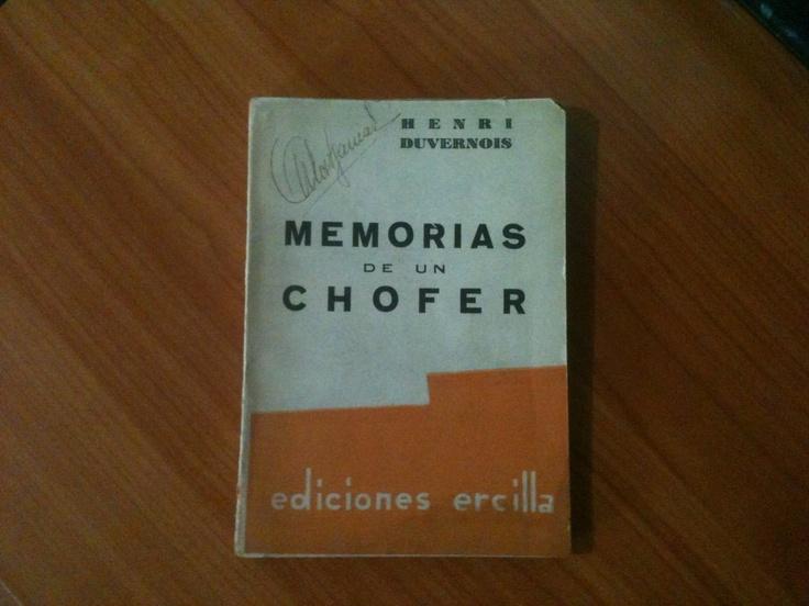 Memorias de un Chofer - Henri Duvernois.