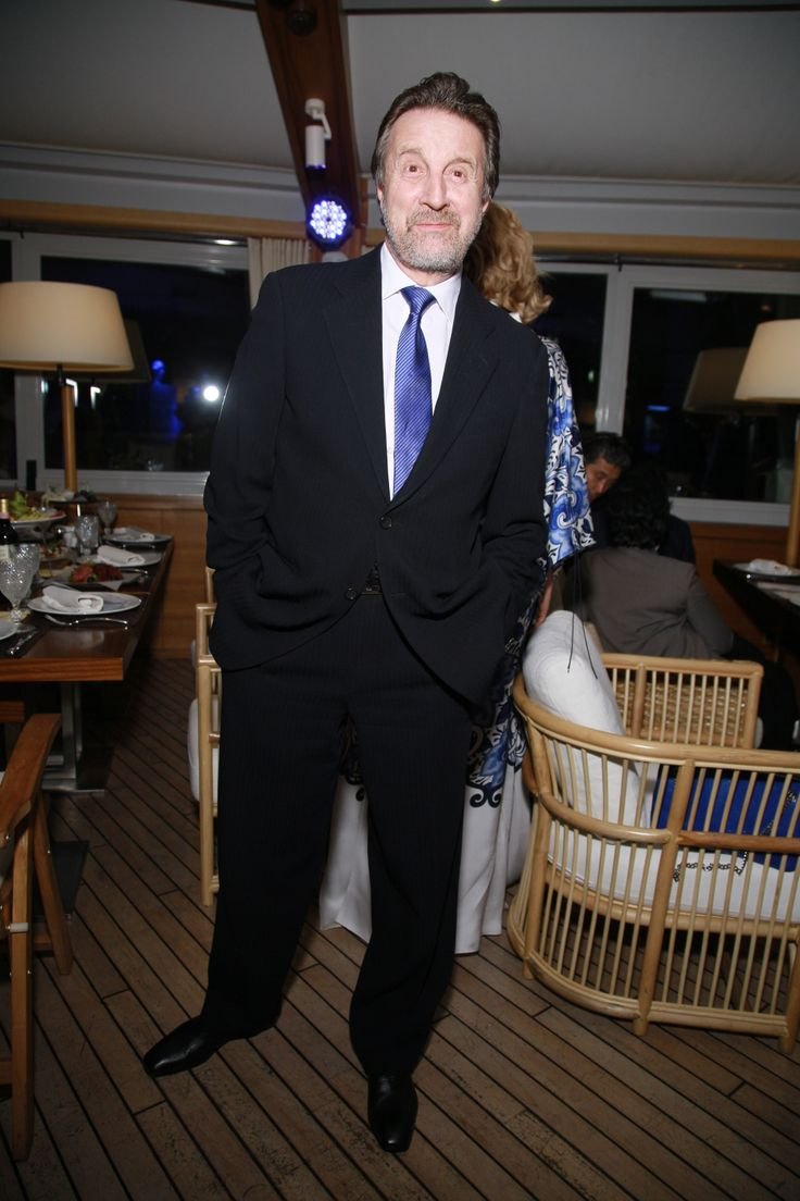 The actor Leonid Yarmolnik