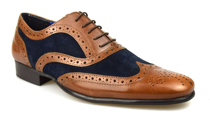 Hudson Two Tone Brogues
