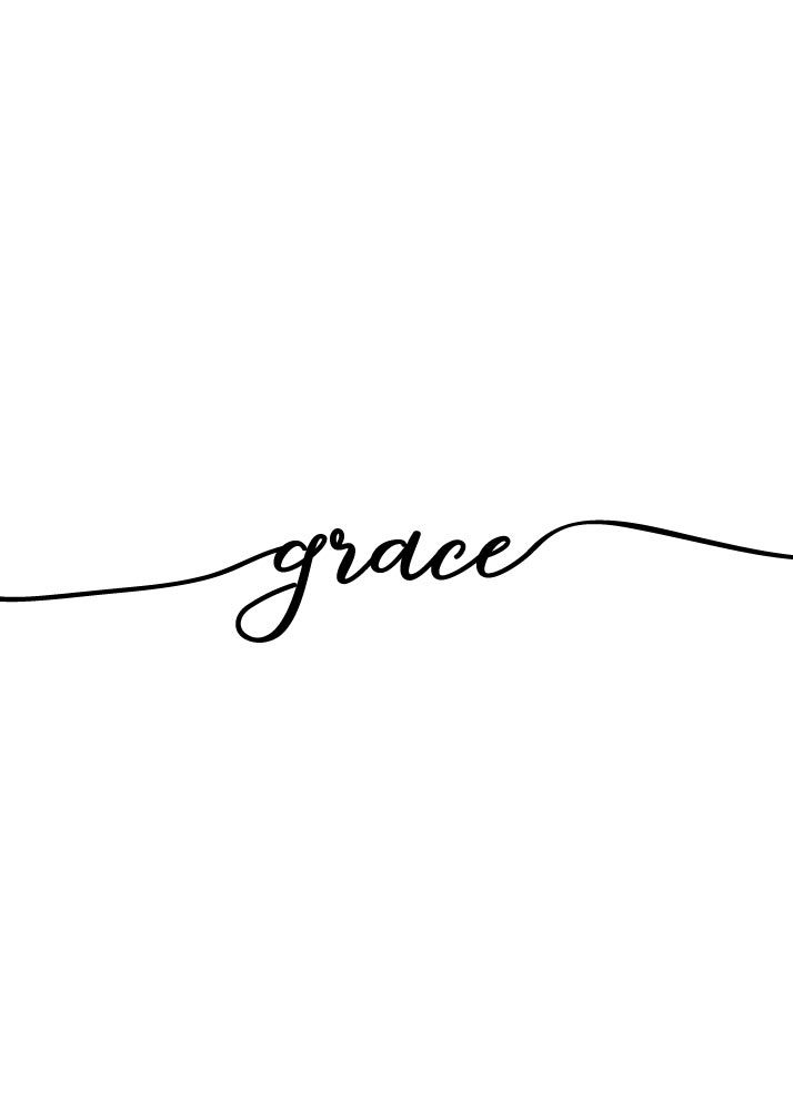 5 Bible Verse Prints - Amazing Grace The Bible says we are saved by grace. The only way to get to heaven is through the doorway of Grace. Grace is God's approval, God's acceptance, God's favor towards us sinners because of Jesus Christ. Let this amazing grace print be a reminder to yourself and others that God's grace is amazing! -Different size options available #grace #amazinggraceprints