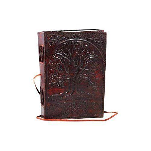 Sacred Oak Tree Leather Blank Book AzureGreen https://www.amazon.com/dp/B007BO13T0/ref=cm_sw_r_pi_dp_U_x_ue1iAb0TW62F4