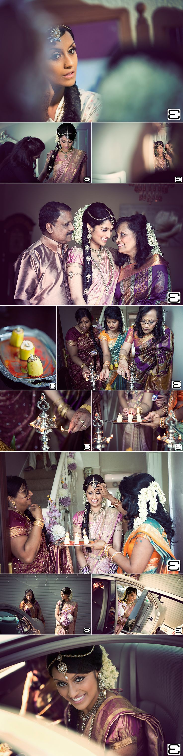 Tamil Wedding Photography At Parklands Quendon Hall