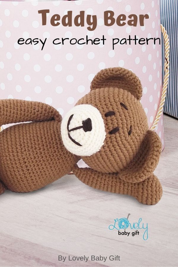Teddy Bear Crochet Pattern Toys And More | The WHOot | 900x600