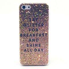 eet glitter voor ontbijt glans de hele dag patroon harde bes... – EUR € 3.99