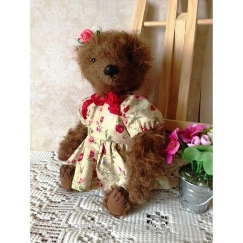 Teddy Bear Melanie. Author - Svetlana Mikhailenko - http://arthandmade.net/mihailenko.svetlana Teddy, bear, teddy bear, toy, collectible toy, gift, original gift, teddy artist, handmade, craft, тедди, мишка, мишка тедди, игрушка, коллекционная игрушка, подарок, оригинальный подарок, художник, ручная работа