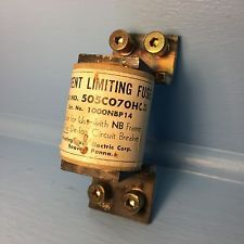 Westinghouse Electric 1000NBP14 Current Limiting Fuse 505C070H03 for NB Breaker. See more pictures details at http://ift.tt/2bbzzH6