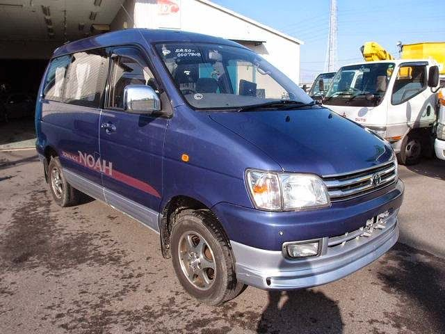 Japanese vehicles to the world: 1997 Toyota Townace Noah Royal Lounge 4WD for Tanz...