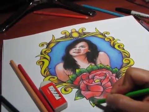 Tattoo Art - DRAWING BY JOHN SIERRA TATTOOER