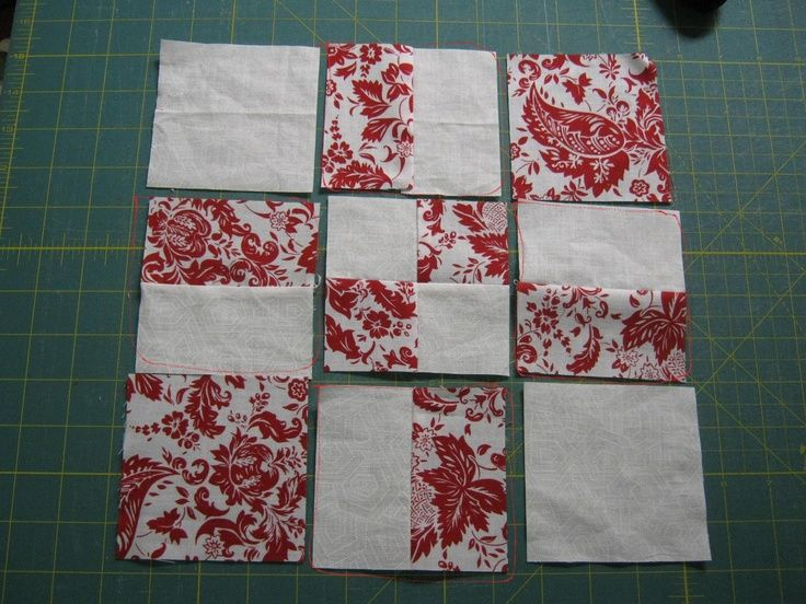 Like the red and white theme for a quilt