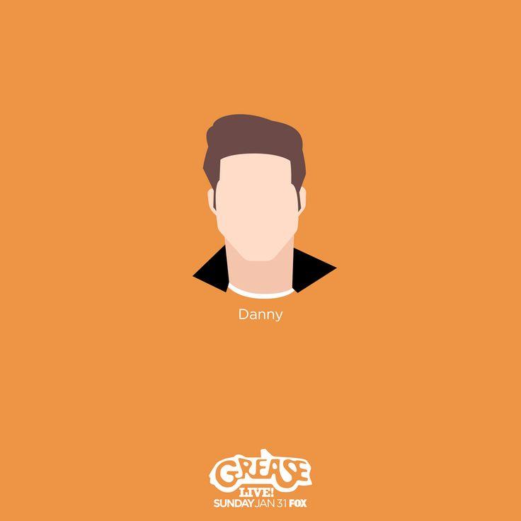Grease Live - Danny Zuko #DelilahJames