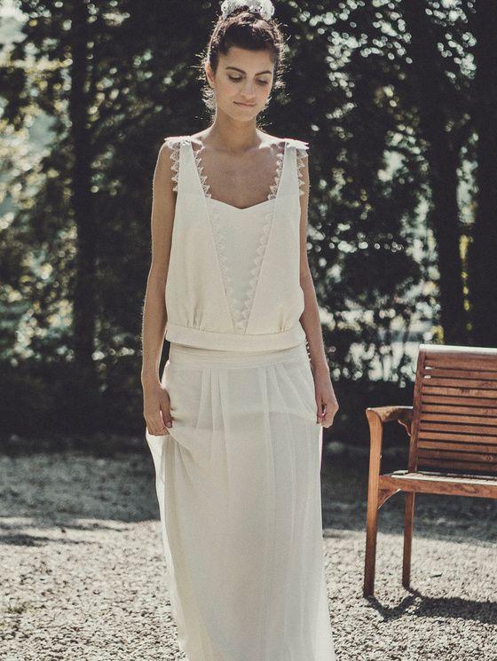 tendance robes de mariee 2015 LAURE DE SAGAZAN