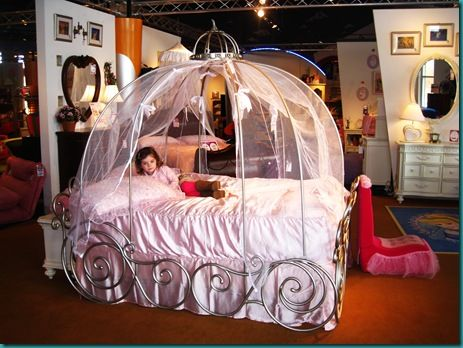 Cinderella Carriage Bed Girls | ... Went Straight For Beds Like The  Enchanted Pumpkin