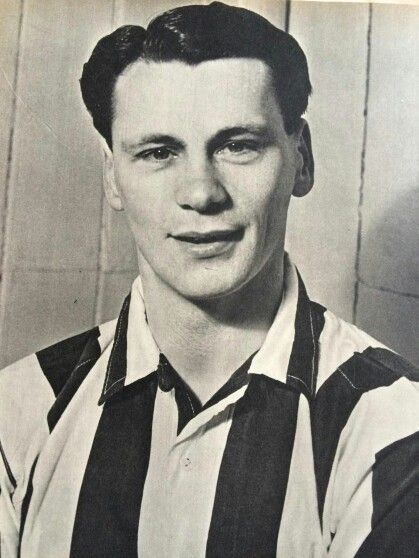 Bobby Robson with the West Bromwich Albion Football Club.