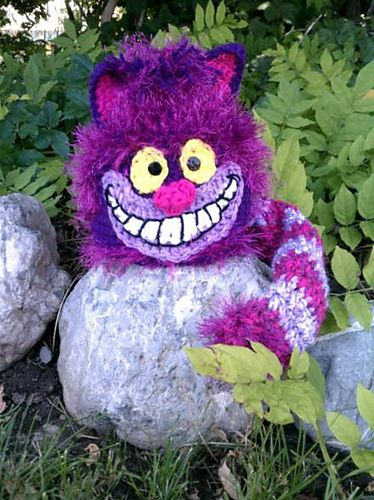 Cheshire cat, Hat patterns and Ravelry on Pinterest