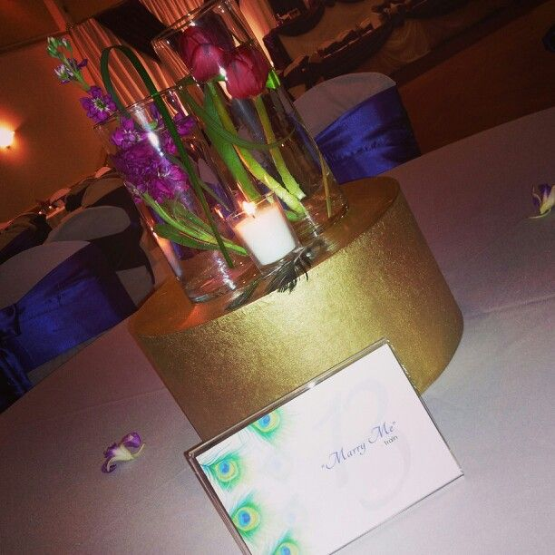 Submerged centerpieces