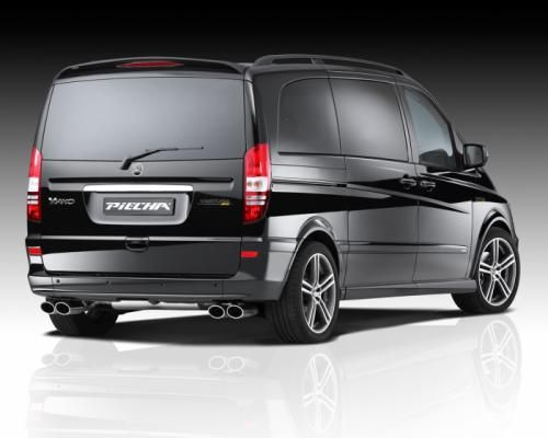 Mercedes-Benz Viano facelift gets full styling kit from #JMS and Piecha Design #mbhess #piechadesign #viano #mbviano