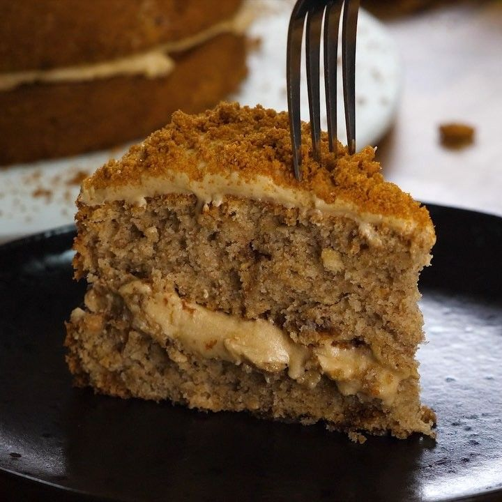 Bosh On Instagram Biscoff Coffee Cake Yes We Went There Amazing Delicious Coffee Cake Made With The Coffee Cake Recipes Coffee Cake Biscoff Recipes