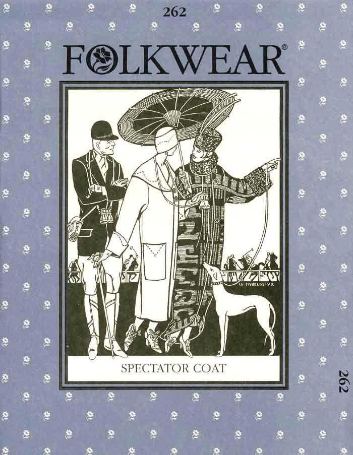 Spectator Coat (Folkwear 262)