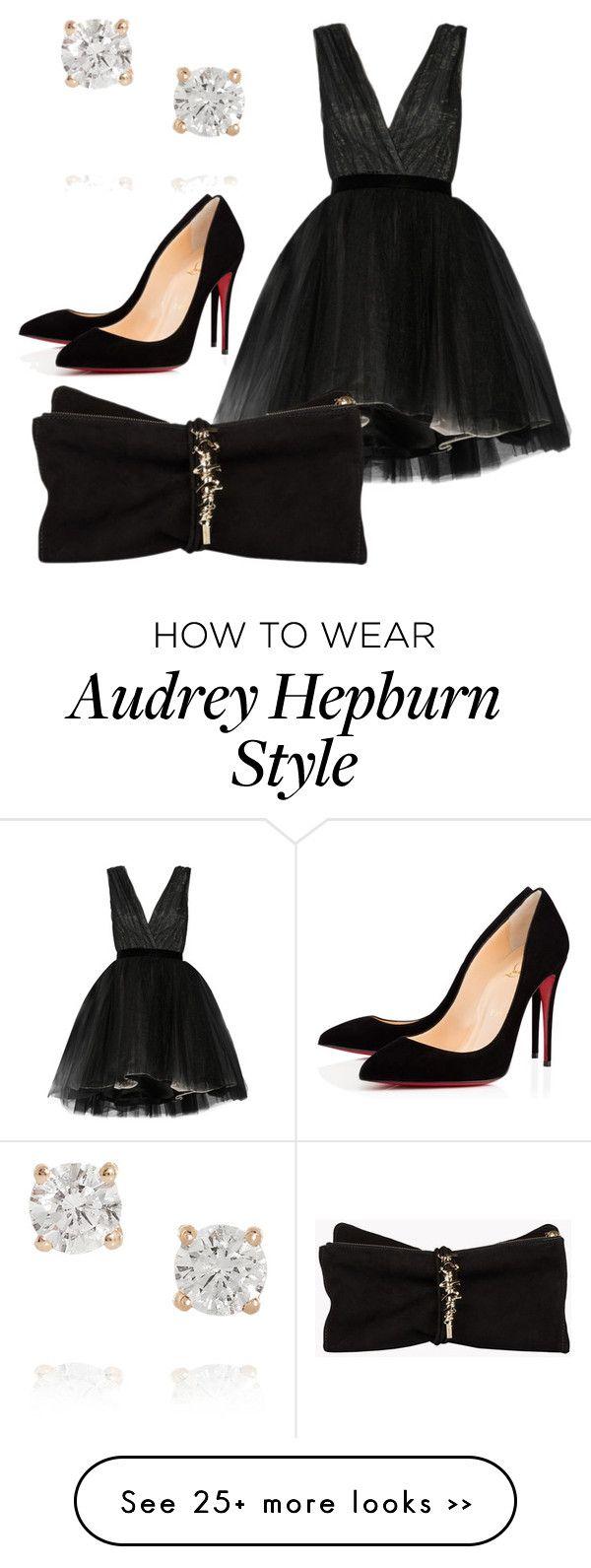 """Audrey Hepburn Style"" by jobethbhatia on Polyvore"