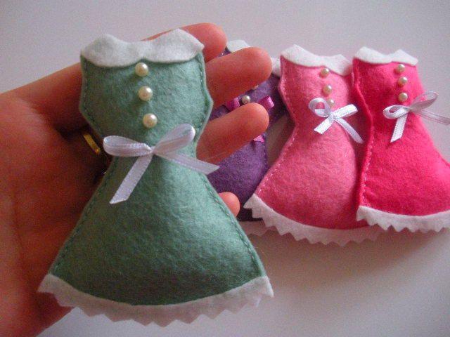 Elbise Doğumgünü Magnet- Bebek hediyeleri