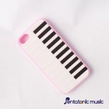 Piano Silicon Cover for iPhone 5/5s - Pink