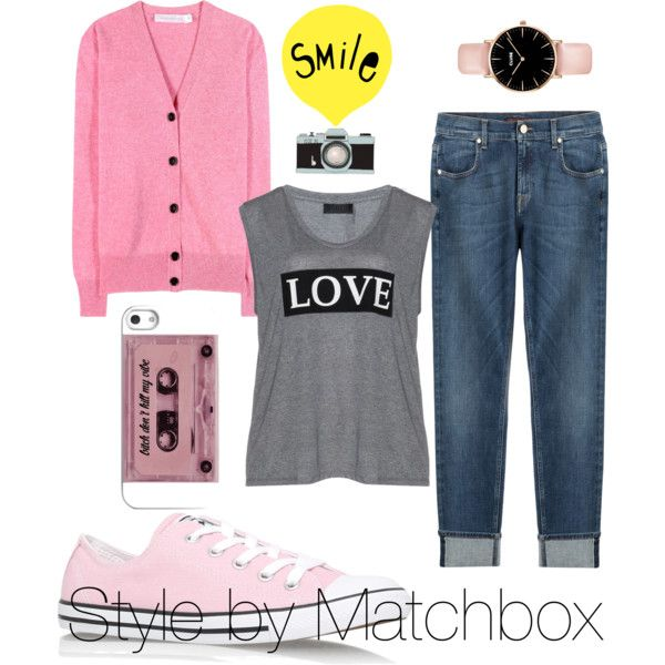 A fashion look from September 2015 featuring Victoria Beckham cardigans, Carmakoma t-shirts and 7 For All Mankind jeans. Browse and shop related looks.