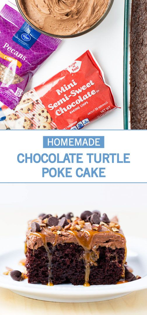 There's something about the combination of chocolate and caramel that's simply irresistible when it comes to celebratory desserts! This Chocolate Turtle Poke Cake recipe is filled with ooey gooey caramel and topped with even more caramel sauce, chocolate, and nuts. Thanks to the adorable cake toppers, this cake would make the perfect dessert for a graduation party.