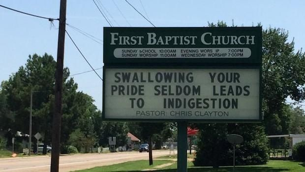 Swallowing Your Pride Quotes: 17 Best Images About Church Signs On Pinterest