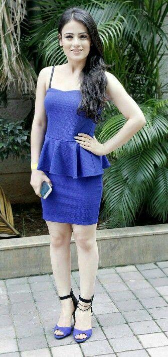 Radhika in blue