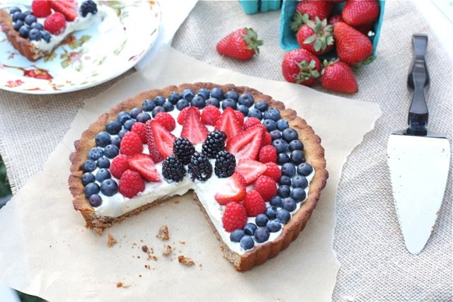 4 July 4: Paleo Dessertssnack, Desserts Recipe, Summer Fruit, Fourth Of July, Fruit Pies, 4Th Of July, Berries Tarts, July 4Th, Fruit Desserts