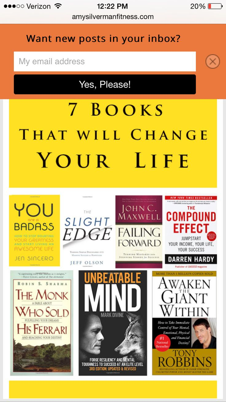 For confidence/Life books