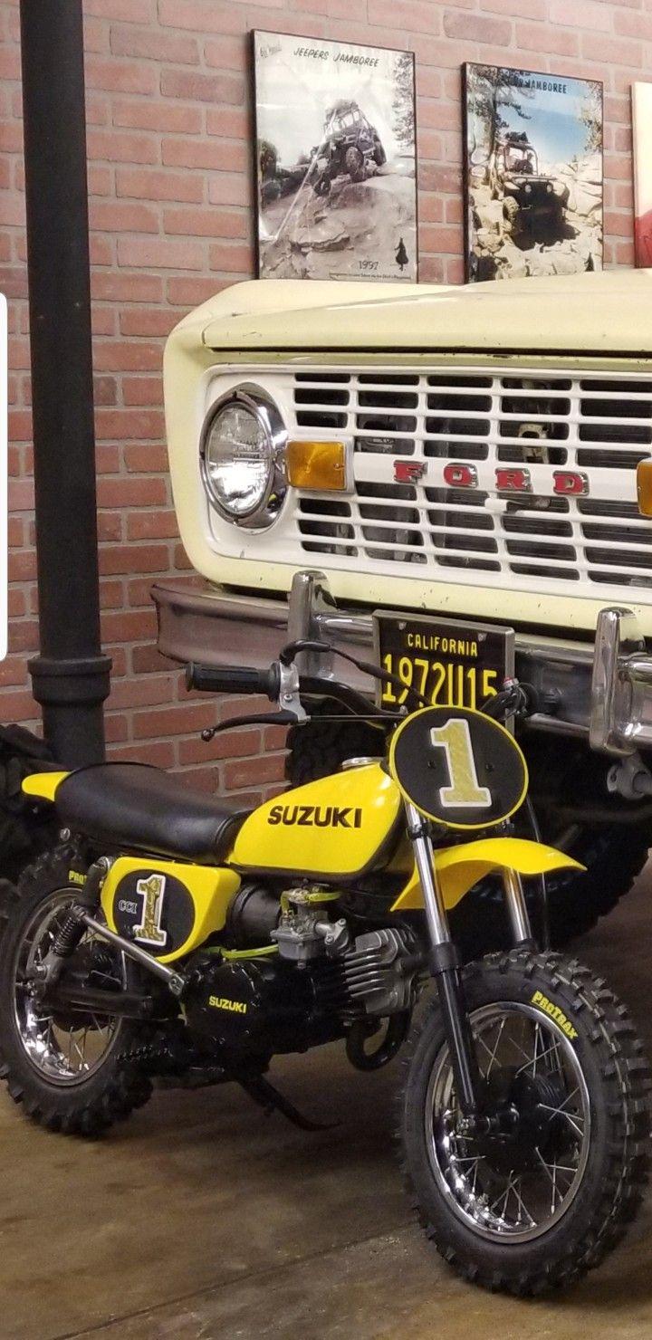 1978 Suzuki Jr50 Suzuki Bike Motorcycle