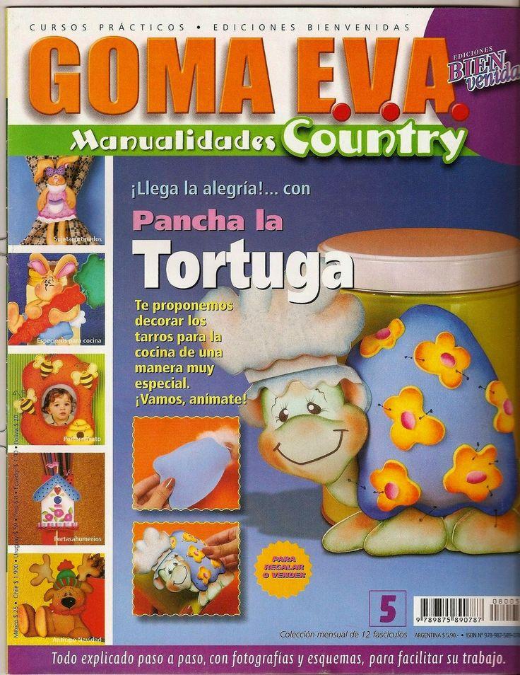 Revistas de manualidades Gratis: Como decorar tarros con goma eva