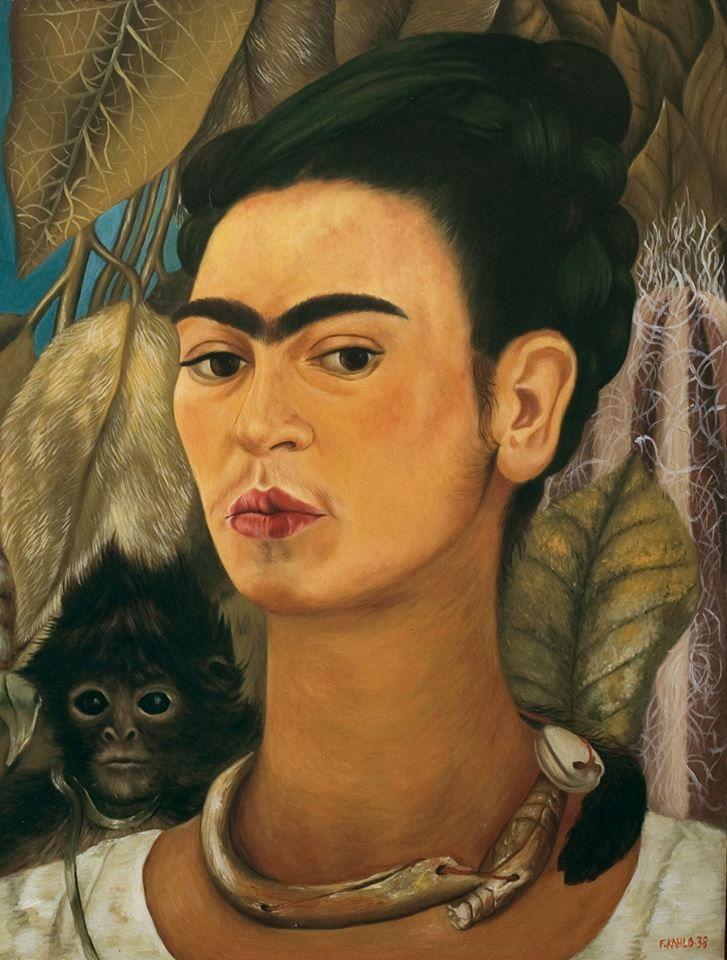 Self Portrait with Monkey