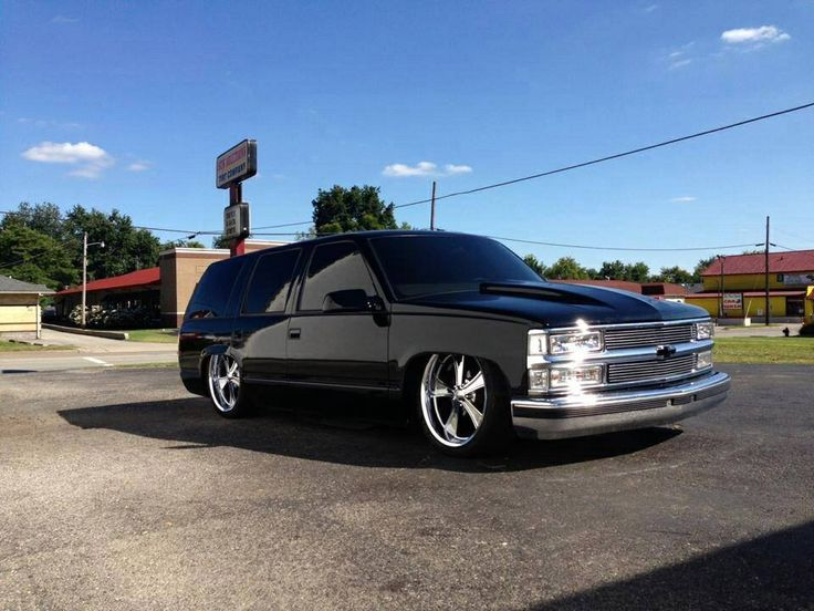 Bagged Chevy Tahoe #Chevy #TAHOE