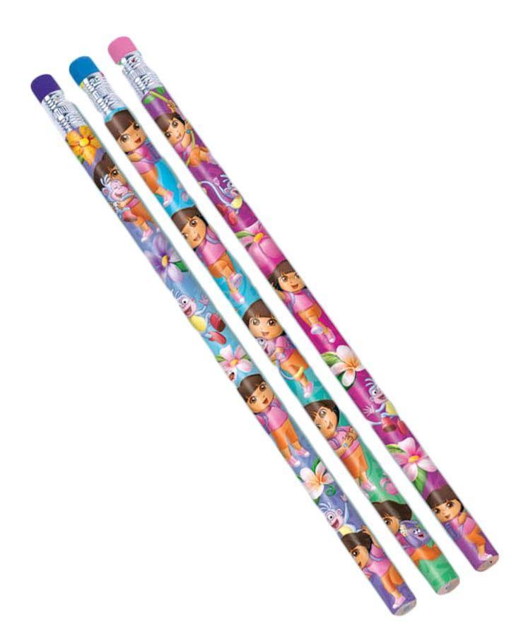 Dora the Explorer Pencil Party Favours