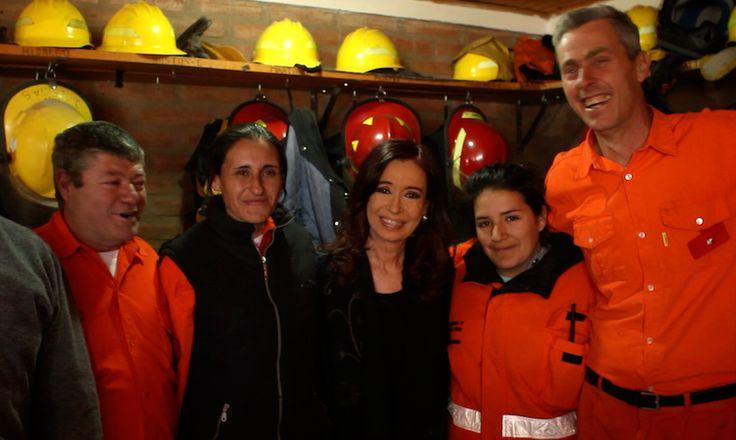 Olivos. Acabo de regresar de Yacanto, Córdoba....   Cristina Fernández de Kirchner
