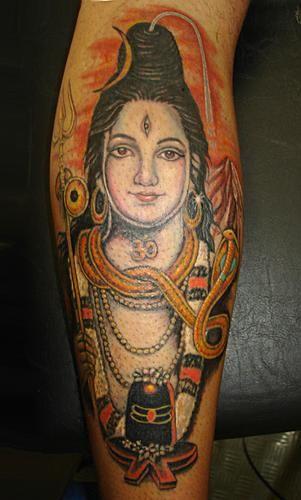 Resultado de imagen de tatuaje shiva