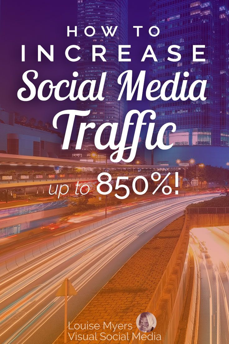 How to Increase Social Media Referral Traffic up to 850% | Social
