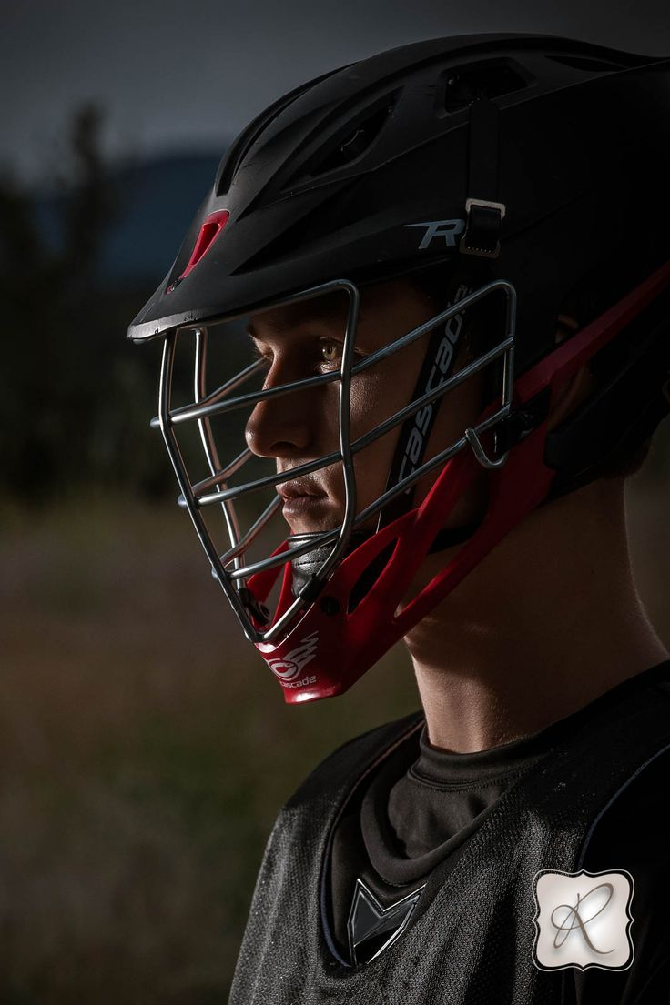 Dramatic Boys Lacrosse Senior Pictures Photographed by Allison Ragsdale Photography Durango CO