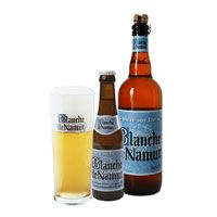 belgian white beer with destinguished citrus taste ! Great and very cheap !