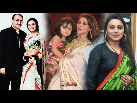 Rani Mukerji with Family - YouTube